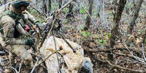 Hakkâri'de PKK'ye ait silah ve EYP ele geçirildi
