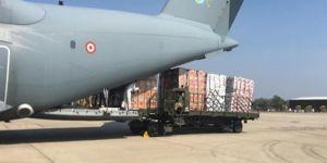 Türkiye'nin gönderdiği ikinci yardım uçağı ABD'ye ulaştı