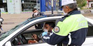 Gaziantep'te sokağa çıkma yasağını ihlal eden 8 bin 314 kişiye para cezası verildi