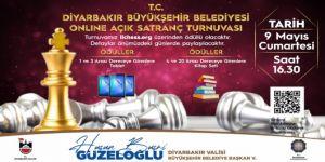 Diyarbakır Büyükşehir Belediyesi online açık satranç turnuvası düzenliyor