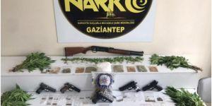 Gaziantep'te uyuşturucu operasyonunda 17 kişi gözaltına alındı