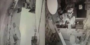 Sur'da bir gecede 3 ayrı iş yerine giren hırsızlar kameralara yakalandı