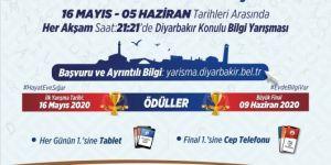 Diyarbakır Büyükşehir Belediyesi ödüllü bilgi yarışması düzenliyor
