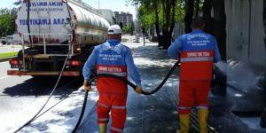 Diyarbakır Büyükşehir Belediyesi temiz bir kent için çalışıyor