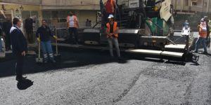 Bağlar Belediyesi asfalt rekoru kırdı
