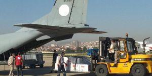 Makedonya ve Arnavutluk'a tıbbi yardım malzemesi gönderildi
