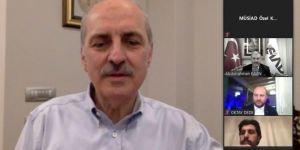 AK Parti Genel Başkanvekili Numan Kurtulmuş, MÜSİAD yönetimiyle bir araya geldi
