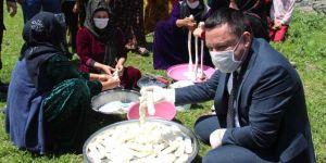 Bağlar Belediyesi tescilli Karacadağ pirinci ve örgülü peyniri üretecek