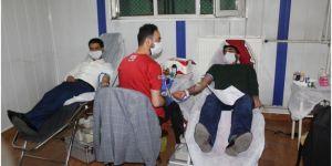 Palu'da Kızılay'ın kan bağışına yoğun ilgi