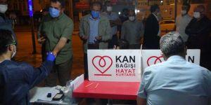 Kan bağışı çağrısına HÜDA PAR Adıyaman İl Başkanlığından destek