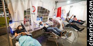 Diyarbakır Büyükşehir Belediyesinden Kızılay'a kan bağışı