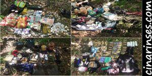 Lice'de PKK'nin kullandığı 2 sığınak imha edildi