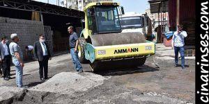 Bağlar Belediyesi sokak ve caddeleri asfaltlamaya devam ediyor