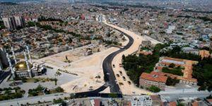 Gaziantep'te kent trafiğini rahatlatacak bulvarda çalışmalar tamamlandı