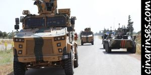12th joint Turkish-Russian land patrol conducted in Idlib