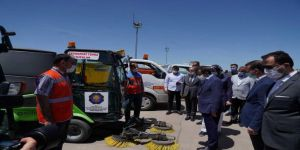 Diyarbakır Büyükşehir Belediyesi temizlik araç filosunu genişletti