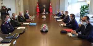 Erdoğan chairs security meeting