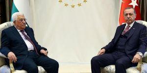 Erdoğan and Palestinian President Mahmoud Abbas talk over phone