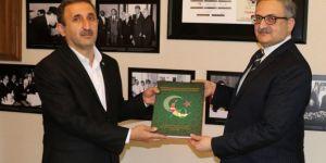HÜDA PAR pays a visit to Pakistan's Embassy in Turkey