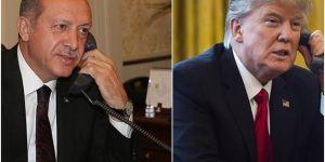 Erdoğan holds a phone conversation with US President Trump