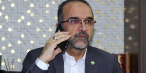 Sağlam holds a phone conversation with Şentop on the occasion of Eid al Fitr