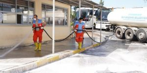 Diyarbakır Büyükşehir Belediyesi temizlik çalışması başlatıldı