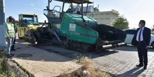 Bağlar Belediyesi asfalt çalışmasına devam ediyor