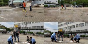 Siverek'te Cuma namazı kılınacak okullarda çalışmalar tamamlandı
