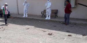 Bismil Aşağı oba köyü coronavirüs nedeniyle karantinaya alındı