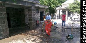 Diyarbakır Büyükşehir Belediyesi Cuma namazı öncesi camileri dezenfekte etti