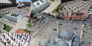 Diyanet İşleri Başkanı Erbaş, tedbirlere uyarak camiye gelenlere teşekkür etti