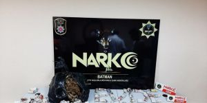 Batman'da uyuşturucu ticareti iddiasıyla 2 kişi tutuklandı