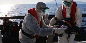 Sahil Güvenlik Komutanlığı: Çanakkale açıklarında 23 düzensiz göçmen kurtarıldı