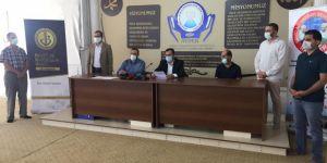 HAY-DER Mavi Marmara katliamının 10. yıl dönümü münasebetiyle basın açıklaması düzenledi