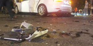 Diyarbakır'da yaşanan trafik kazasında 2 kişi yaralandı