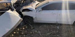 Akçakale Ziraat Odası Başkanının bulunduğu araç kaza yaptı: 1 ölü 2 yaralı