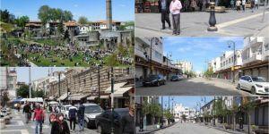 Diyarbakır'ın bazı caddelerinde maskesiz dolaşmak yasaklandı