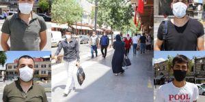 Diyarbakır'da maske takma zorunluluğu kararına vatandaşlardan destek