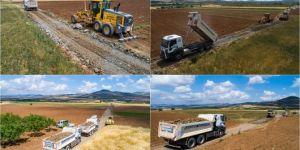 Gaziantep'te tarımsal kalkınmaya destek sürüyor
