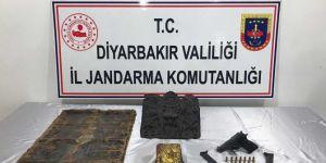 Ergani'de tarihi eser operasyonunda 6 kişi yakalandı