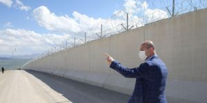 Bakan Soylu'dan Türkiye-İran sınırına inceleme