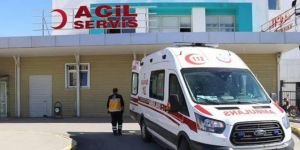 İslahiye'de iskele halatı koptu, 1 işçi yaralandı