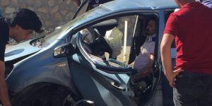 Elâzığ'da kaza: 4 yaralı