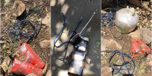 PKK'nin tuzakladığı el yapımı patlayıcılar imha edildi