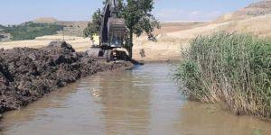 Bağlar Belediyesi tıkanan gölü açarak mahalleye bir yol kazandırıldı
