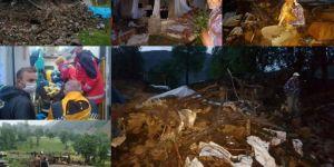 Bingöl depreminde bazı ev ve ahırlar çöktü