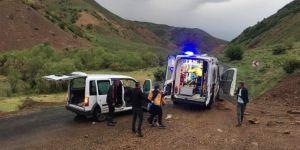 Bingöl'de deprem sonrası yaşanan heyelanda 7 kişi yaralandı