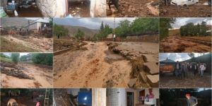 Bingöl'de sel baskınında birçok alan zarar gördü