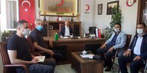 İpekyolu Belediyesi Başkan Vekili Aslan'dan Kızılay Van Şubesine ziyaret