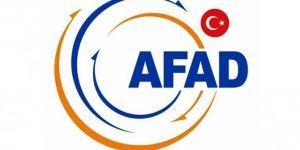 AFAD: Selde kaybolan vatandaşları arama kurtarma çalışmaları sürüyor